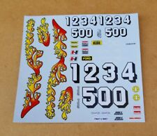 AMT 1/25 1957 FORD HARDTOP DECAL SHEET