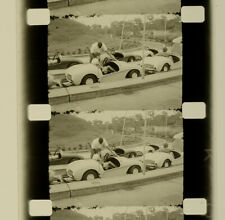 50's-60's USAF Military Disneyland Mexico Greenland 16mm Film Home Movie Vtg