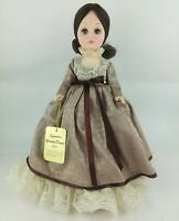 "Effanbee 15"" Grandes Dames Collection Doll Brunette Coco 1978 with tag & stand"