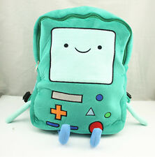 """15"""" Backpack Adventure Time Beemo BMO Schoolbag  Plush Great Xmas Gift"""