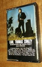 Somewhere Between Right And Wrong - Earl Thomas Conley (Cassette, 1982, RCA)