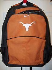 NIKE Texas Longhorns UT School Backpack Back Pack NWT