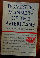 Trollope: Domestic Manners of the Americans 1949 first edition