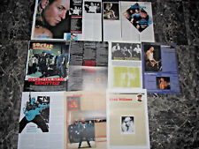 SOCIAL DISTORTION   36  TEILE/PARTS CLIPPINGS LOT   0416