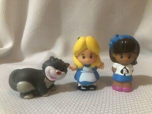 Fisher Price Little People Magic of Disney Alice in Wonderland Mia Cheshire Cat