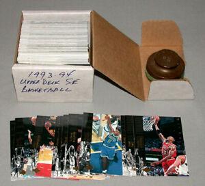 1993-94 Upper Deck SE Full Basketball Cards Set of 225/225