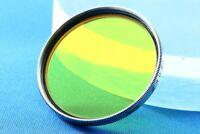 Nicca Vintage Lens Filter 40.5mm Y2 for Nikkor 5cm F2 Leica LTM L39 Exc+