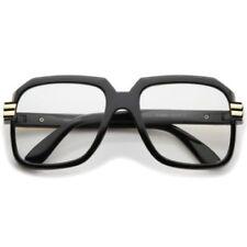 Gafas de sol de hombre transparentes de metal