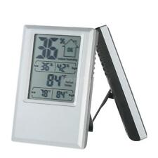 Digital Thermometer Hygrometer Indoor Desktop Temperature Humidity Meter W0V2