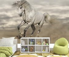 Mural wall sticker - HORSE II - 12 pi x 8 pi custom DECO DECOR ART