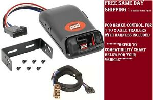 80500 Pro Series Brake control with Wiring Harness 3025 FOR 1992-2002 GM