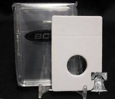 10 BCW ASE Silver Eagle 40.6mm Display Slab Coin Storage Holder + INSERTS