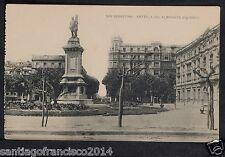 1757.-SAN SEBASTIAN -Estatua del Almirante Oquendo
