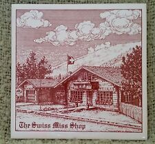 """Vintage Delft Red Tile Art Work From Holland """"The Swiss Miss Shop"""""""