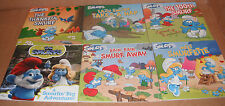 Lot of 6 Smurfs Classic 8 x 8 Books Paperback New