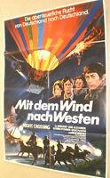 A1 Filmplakat,MIT DEM WIND NACH WESTEN,NIGHT CROSSING,JOHN HURT,JANE ALEXANDER
