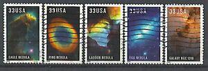 Scott #3384-88 Used Set of 5, Edwin Powell Hubble