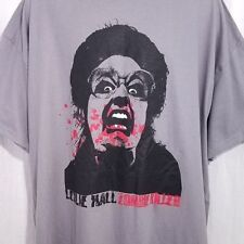 Leslie Hall Zombie Killer Mens T Shirt Leslie And The Lys Crew Gray Size 3XL