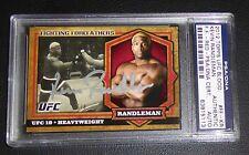 Kevin Randleman Signed UFC 2012 Bloodlines Fighting Forefathers Red Card PSA/DNA
