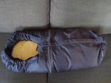 Odenwälder Baby-Nest Fußsack Lammy dunkelblau