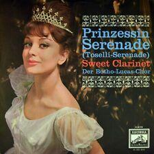 "7"" BOTHO LUCAS CHOR Prinzessin (Toselli-Serenade)/ Sweet Clarinet ELECTROLA 1962"