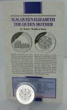 More details for bhutan queen mother 1995 silver proof 300 ngultrum st. paul's walden bury