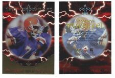 1997 Collector's Edge Danny Wuerffel 1997 NFL Draft football card NUMBERD/1000