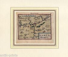 Namur-Belgien-Belgique-Belgium-Benelux Karte-Map Ortelius um 1600