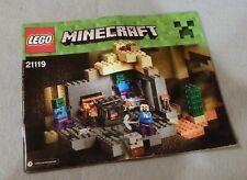 +Lego MINECRAFT Instruction Manual Booklet Only #21119 Mushroom Island