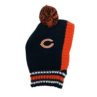 Chicago Bears Little Earth Production NFL Dog Pet Knit Team Winter Hat Sizes S-L