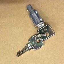 LAND ROVER DEFENDER & SERIES 3 REAR END DOOR LOCK BARREL AND KEYS 395141