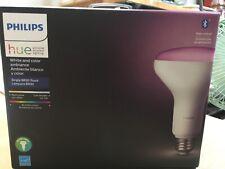 Philips Hue Color BR30 Single Flood 9 Watt LED Bulb (3ed Gen) NEW