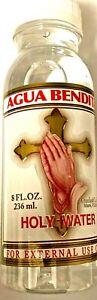 Holy Water De Crusellas Spiritual Religion Blessings Self Help 8oz Purify Self