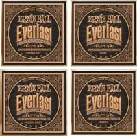 Ernie Ball Everlast Phosphor Bronze Acoustic Guitar Strings - Choice of Gauge