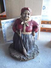"Tom Clark Figurine Cairn Hattie Woman Figurine Ed 44 with Box & Coa 8 1/2"" Tall"