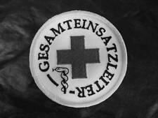 GESAMTEINSATZLEITER Rundemblem Emblem Patch Aufnäher mit Klett