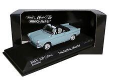 BMW 700 Cabrio in Hellblau Bj 1961 1:43 Minichamps 400023730 NEU & OVP