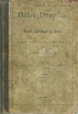 Notre Drapeau - recueil de chants 1904 -canton de Berne