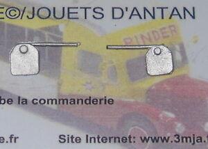 2 plaques arrières pour camions 1/50 (PA543)