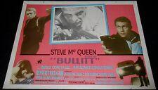 1968 Bullitt ORIGINAL MEXICAN LOBBY CARD Steve McQueen B