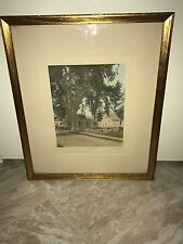 Sawyer Hand-Colored 1800s Photograph Dennison Plant Brunswick Maine
