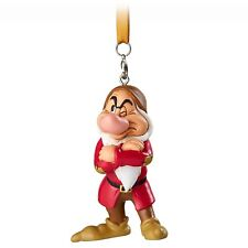 GRUMPY FIGURAL ORNAMENT FROM SNOW WHITE AND 7 DWARFS...DISNEY AUTH  READY TO HAN
