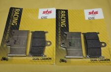 4 pastiglie SBS anteriori DC Suzuki GSXR 750 1988-1993 GSX-R dual carbon