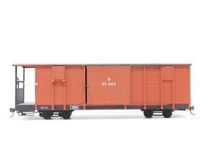 HOm Scale BRASS German DR Deutsche Reichsbahn Covered Wagon Freight Car #07-008