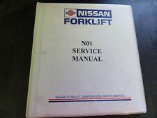 Nissan N01 Forklift Service Manual
