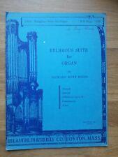 Orgel ? Religious Suite for Organ (1942) ? Richard Keys Biggs, *Vergriffen!*