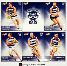 2012 Select AFL Champions Trading Cards Base Team Set Geelong (12)