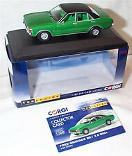 VANGUARDS Ford Granada MK1 3.0 Ghia Jade Green VA05212 ltd ed