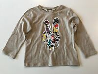 NWT H&M BOY TODDLER GRAPHIC LONG SLEEVE T SHIRT SIZE 1 1/2 - 2
