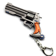 Overwatch Hero McCree Weapon Model Keychain Key Ring Pendant Collectible (2) L99